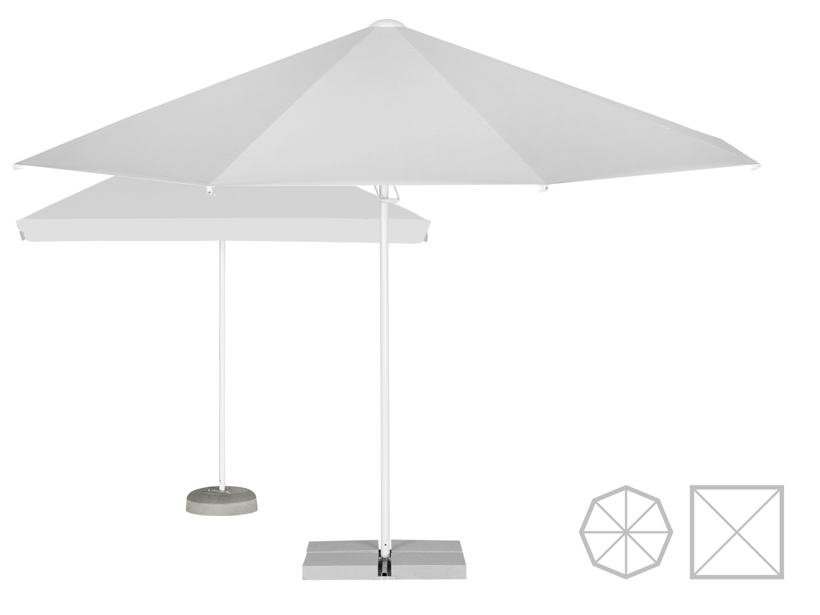 Parasol pop-up
