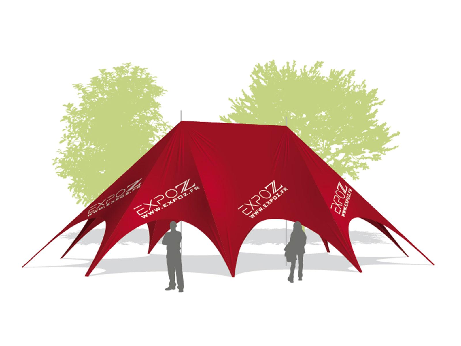 Tent Expo Star 16.5 m  sc 1 st  Expoz & Tent expo star 16.5 m - Reception tents - Expoz