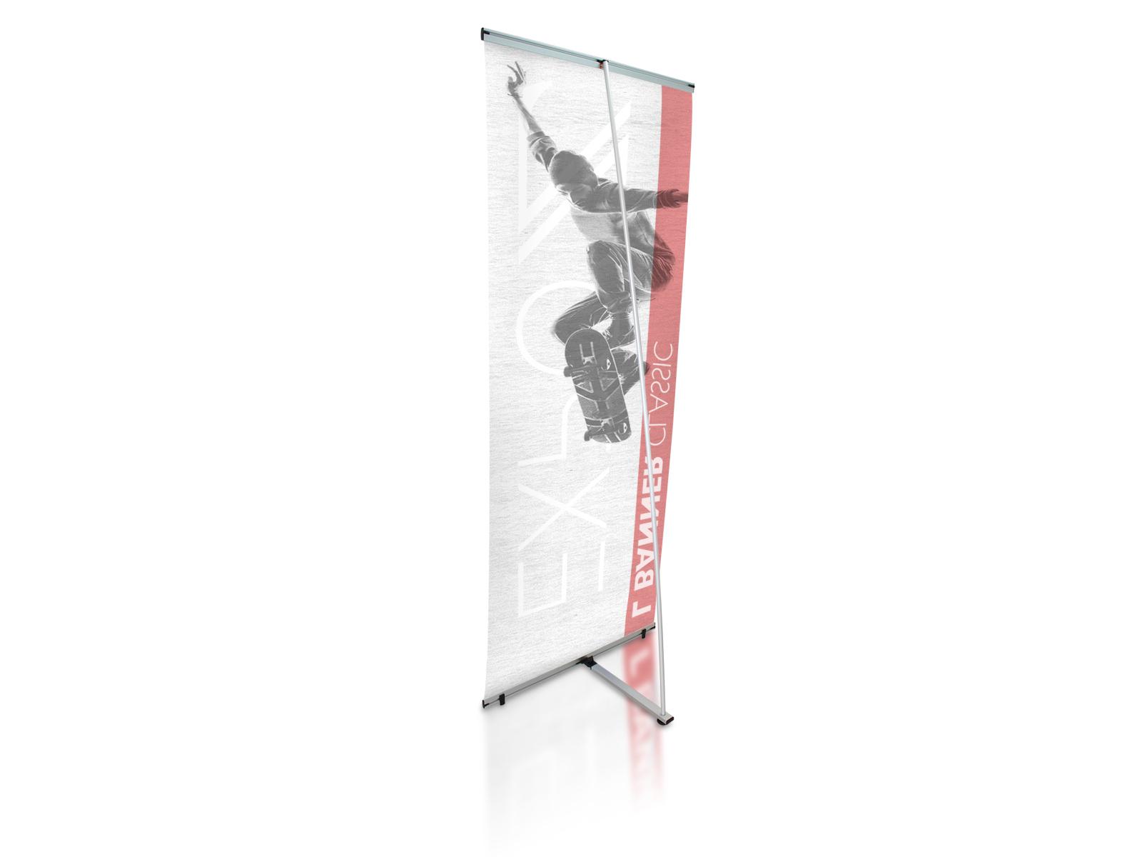 Banner l klassisch 80 x 200 cm - Rollbilder (roll-up) & kakemono - Expoz