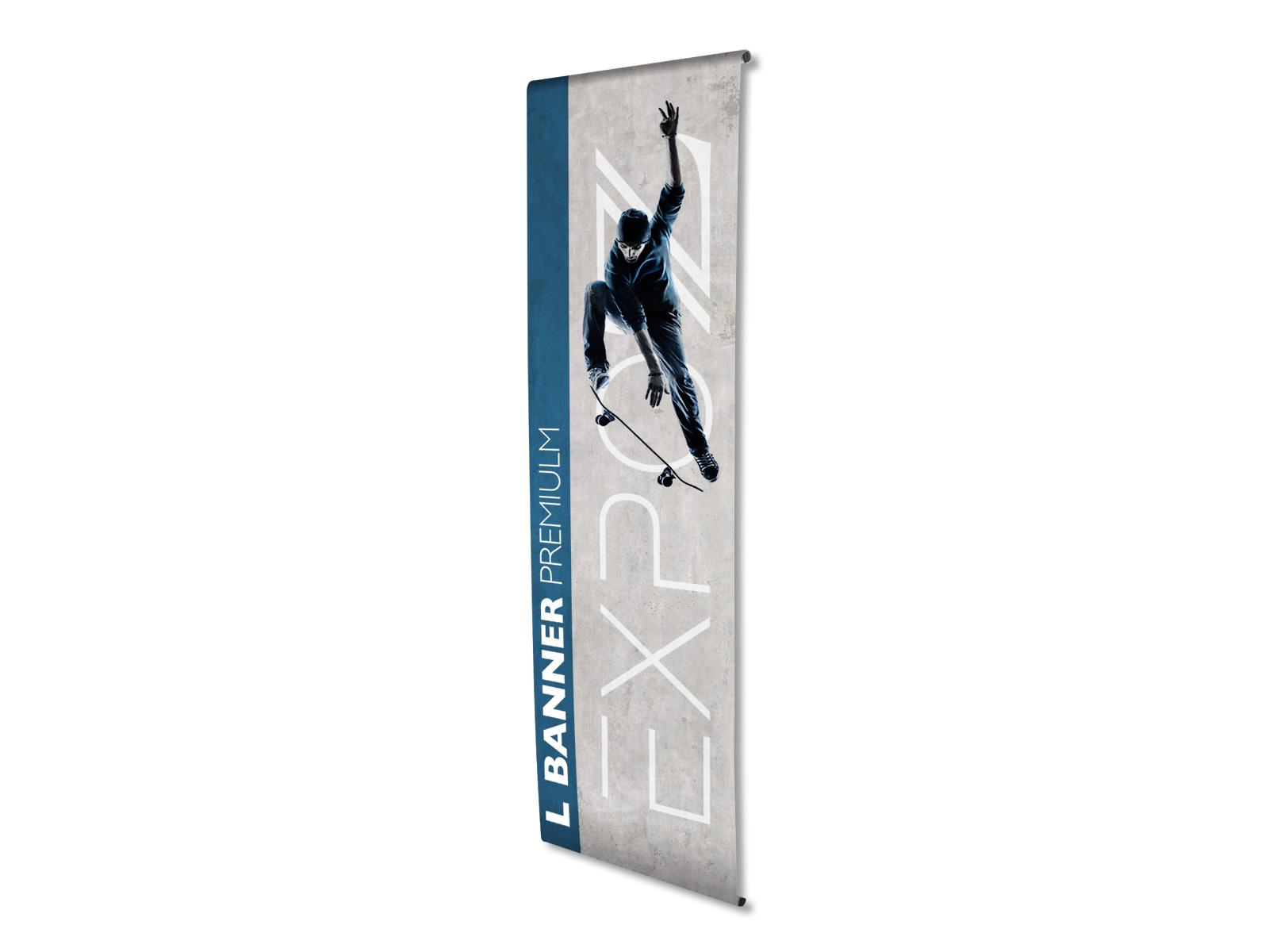 Banner l premium 80 x 200 cm - Rollbilder (roll-up) & kakemono - Expoz
