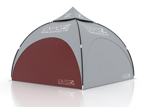 Wall standard - Expodome 6 m pour Expodome L