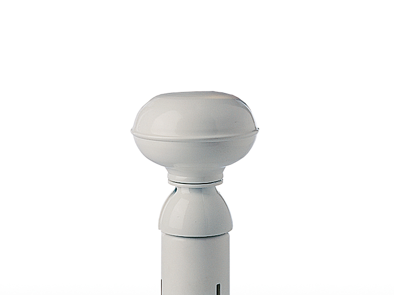 Synthetic knob white