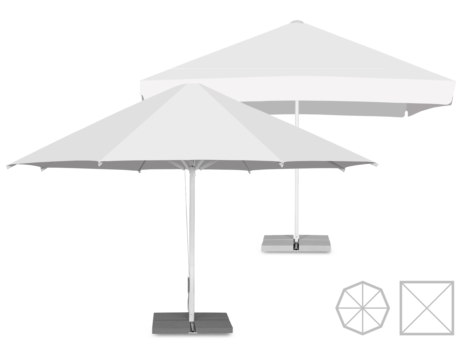 parasol publicitaire large choix de parasol publicitaire expoz. Black Bedroom Furniture Sets. Home Design Ideas