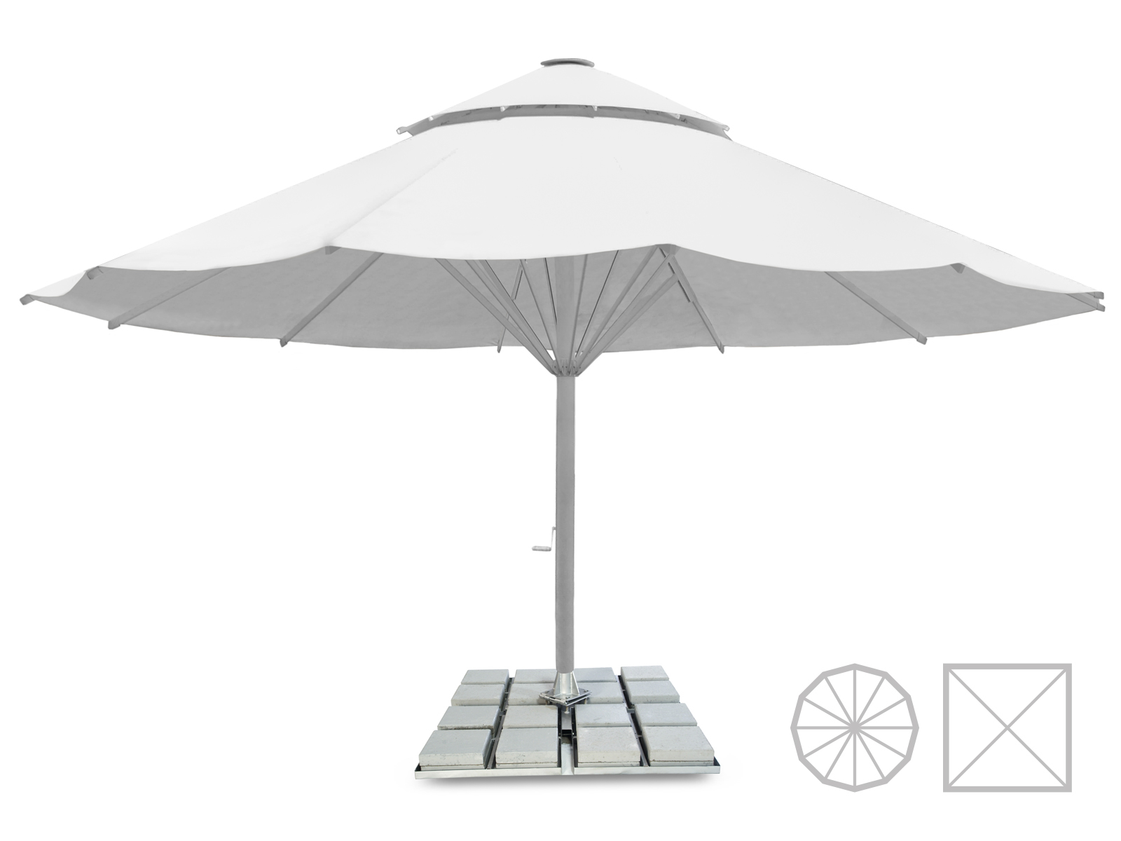parasol publicitaire large choix de parasol publicitaire expoz. Black Bedroom Furniture Sets. Home Design Ideas