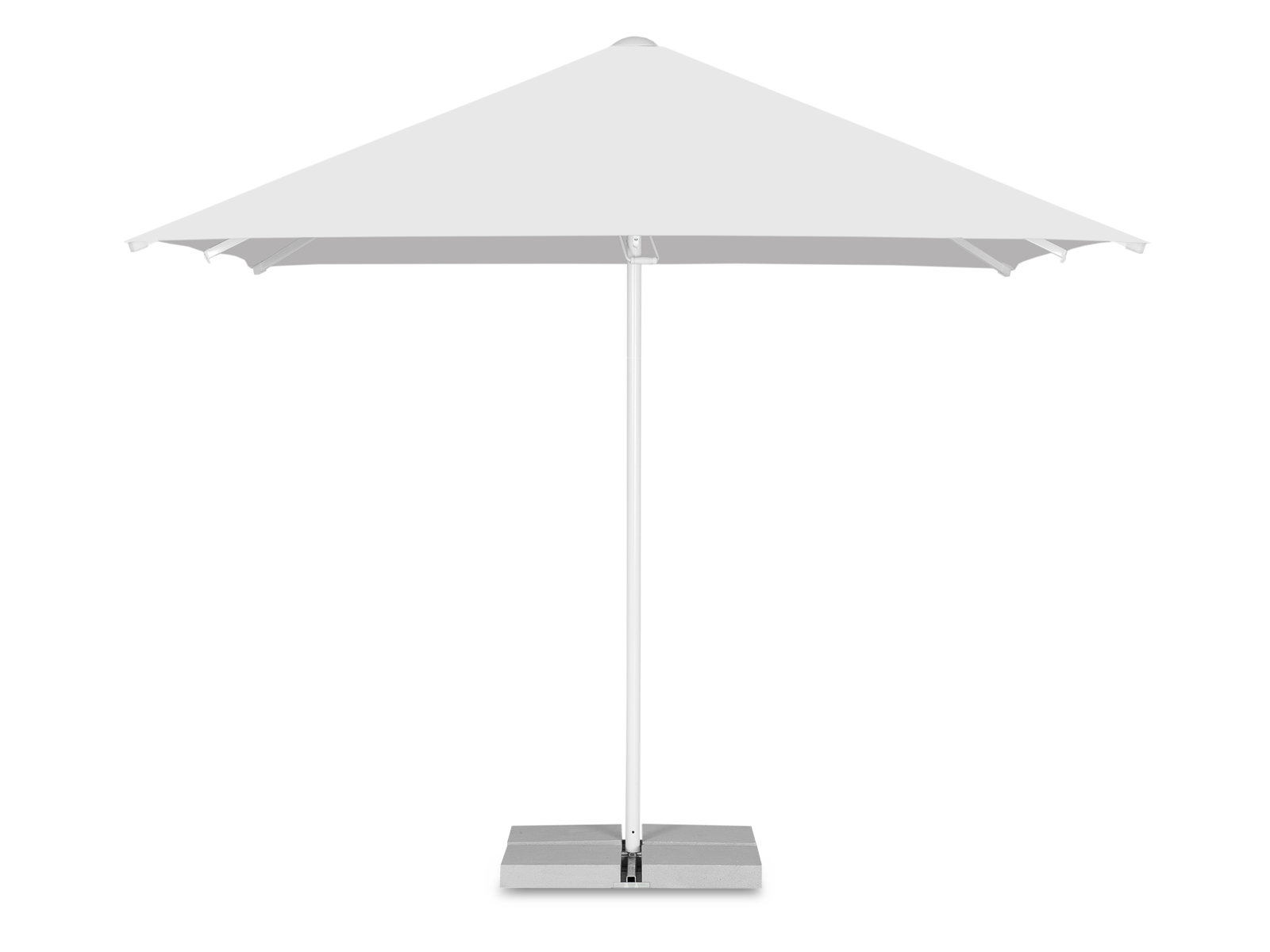 Parasol pop-up carré 3 x 3 m