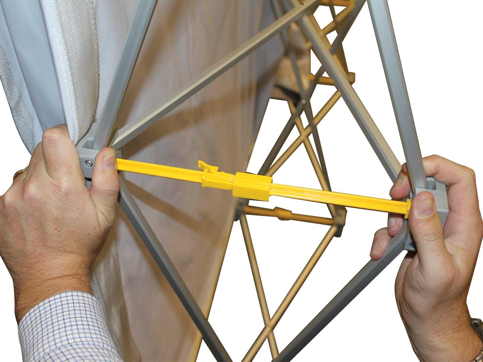 Messestand pop-up textil 3x5 - aufrecht - Messestandwerbung & pop-up ...