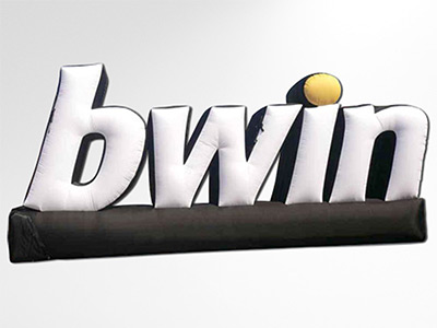 Logo Bwin gonflable géant